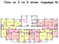 Покровский 3мкр., д.16 (Дмитрия Мартынова улица) - Планировка
