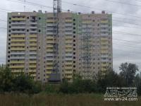 Жилой дом на Курчатова, 5 - Фото строительства