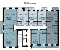 Рябиновый сад, БС 13 - Планировка