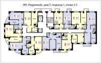Радужный, д.3 (Соколовская улица) - Планировка