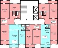 Жилой дом на Грунтовой 28а (1 очередь) - Планировка